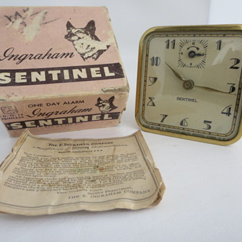 Ingraham Sentinel Alarm - Clocks