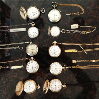Some pocket watches