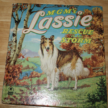 MGM&#039;s Lassie &quot;Rescue in the Storm.&quot;   - Books