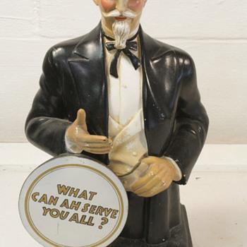 Col Sanders chalkware statue