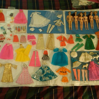 Dawn Collection: Including Many Mint & Complete Outfits, etc. - Dolls