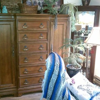 bernhardt furniture  tall gentleman's dresser
