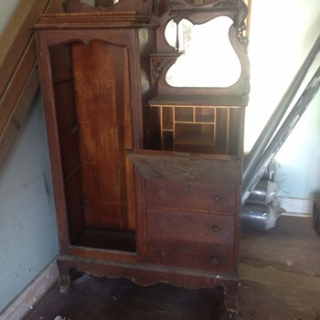 Armoire with vanity  - Furniture