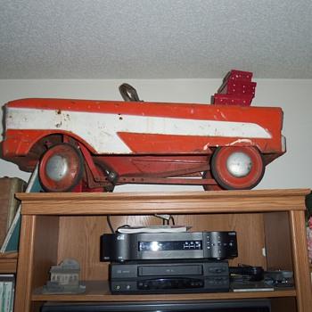vintage petal car