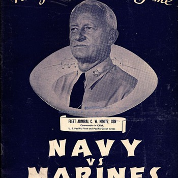WWII Football Programs - Football