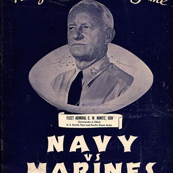 WWII Football Programs - Football
