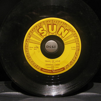 Johnny Cash Sun 45rpm