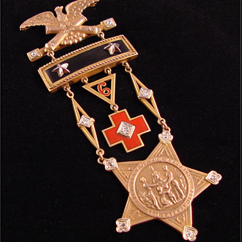 GAR Medal c. 1933 New Jersey 