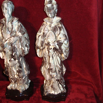 Religious type statues?  - Pottery