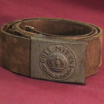 WW I Imperial German Belt and Buckle - Military and Wartime