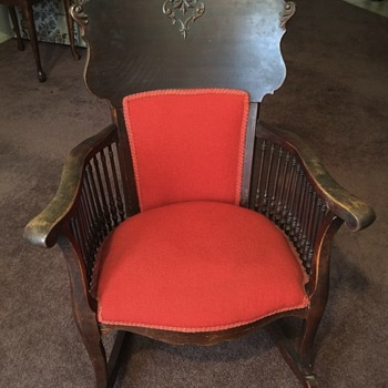 Help in identifying anything about this chair - Furniture