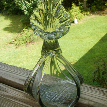 Blown glass bud vase? Glass Sculpture  - Art Glass