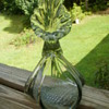 Blown glass bud vase? Glass Sculpture