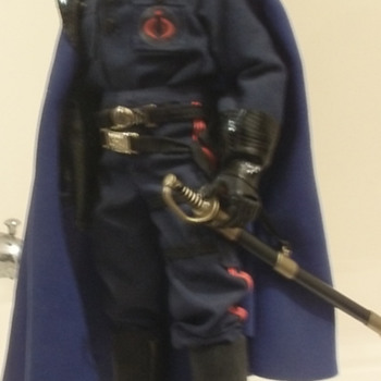 Custom G.I.Joe real american hero Cobra Commander