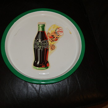 Found this tray  - Coca-Cola