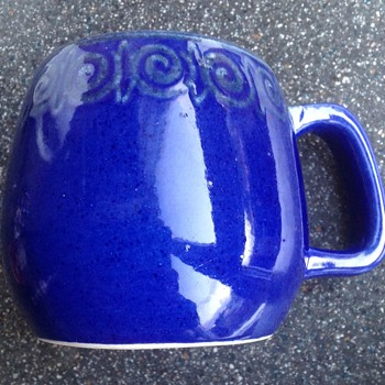Tonala Jal blue ceramic mug - Kitchen
