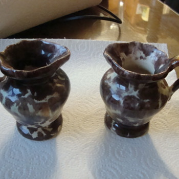 two little lads - Art Pottery