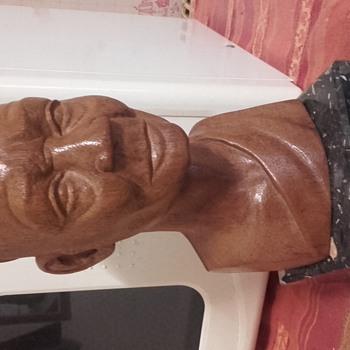 Buste d'un sage africain - Visual Art