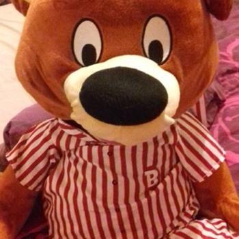 mascot bear haven hoilday's bradley