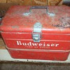 VINTAGE BUDWEISER ICE BOX