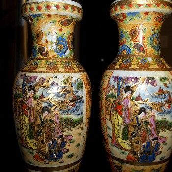 Pretty vases - Asian