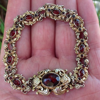Antique Austro - Hungarian Bracelet. - Costume Jewelry