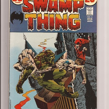 Wrightsen SwampThing from DC - Comic Books