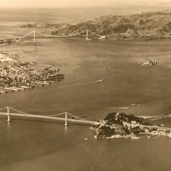 San Francisco 1939 Arial View