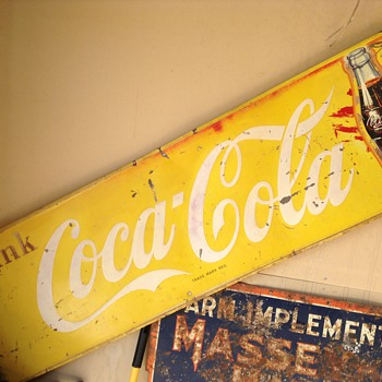 Yellow Coca Cola