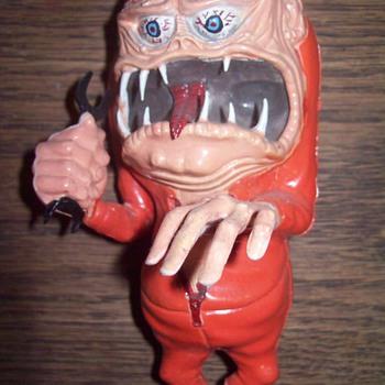 Old monster model. - Toys