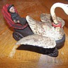 Antique Cast Iron Mother Goose Mechanical Buggy?