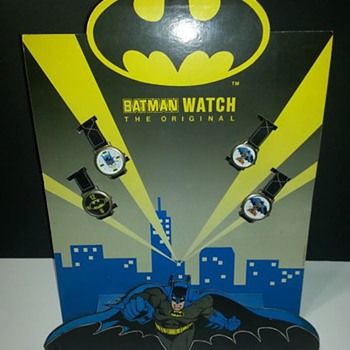 1989 European Batman store Watch display  - Wristwatches