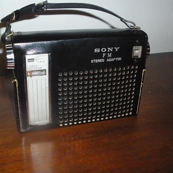 Sony Radio Amp. circa 1965