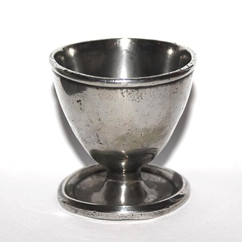 Silver egg cup large size