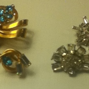 Pin and Earring Sets - Costume Jewelry