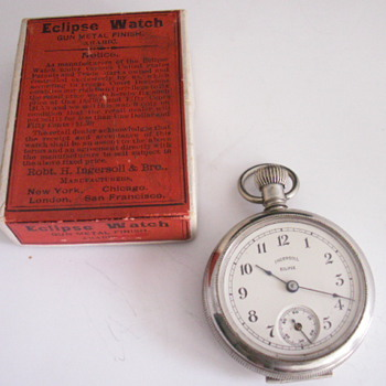 Ingersoll Eclipse  - Pocket Watches