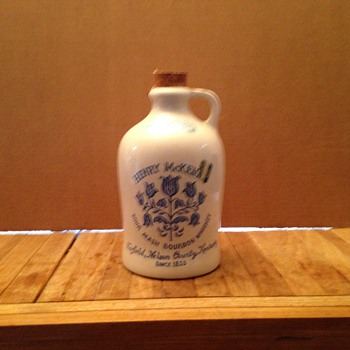 Antique Henry McKenna 1/2 gallon Whiskey jug - Bottles