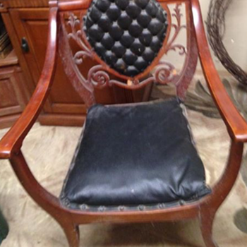What era or type is the chair? - Furniture