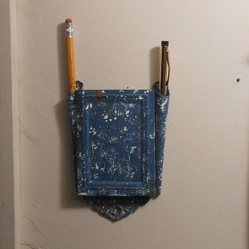 Graniteware Pencil Pen Holder