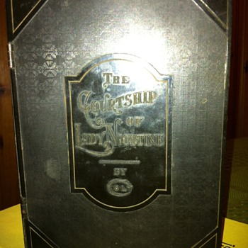 1930&#039;S Colt Humidor &quot;The Courtship of Lady Nicotine&quot; - Tobacciana