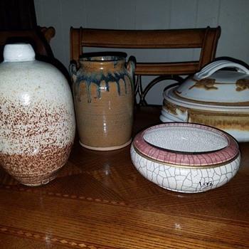 Studio Pottery - Pottery