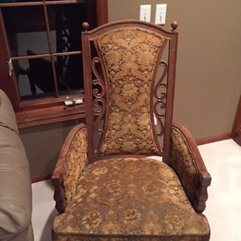 two chairs purchased in TN approx. 20 years ago, looking for any info. on them. - Furniture