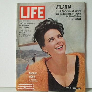Life Magazine Natalie Wood Cover - Paper