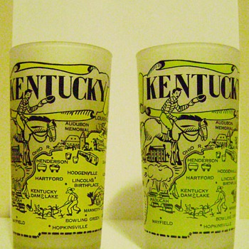 Kentucky Souvenir Glasses