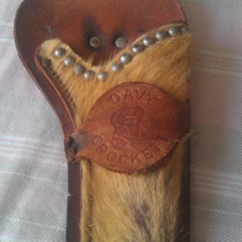 Vintage Davy Crockett Cap Gun Holster