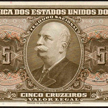 Brazil - (5) Cruzeiros Bank Note