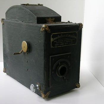 Benson Dry Plate camera - Factory specs or Frankenstein?