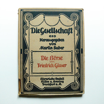 DIE GESHELLSCHAFT books collection, Peter Behrens 1906 - Books