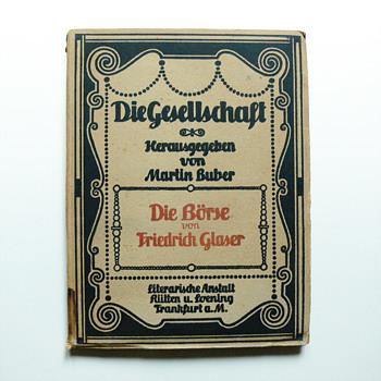 DIE GESHELLSCHAFT books collection, Peter Behrens 1906 - Books