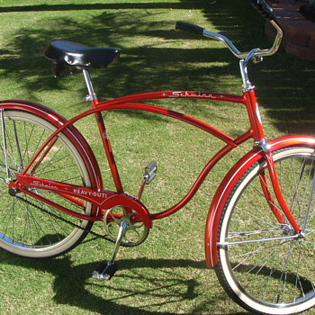 My Rare 1964 Schwinn King Size Heavy Duti Survivor!